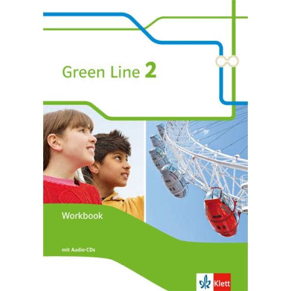 Green Line 2 - Workbook mit Audio-CDs