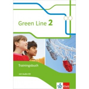 Green Line 2 Trainingsbuch mit Audio-CD  Klasse 6