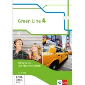 Green Line 4 Fit für Tests und Klassenarbeiten, Arbeitsheft mit Lösungsheft und CD-ROM  Klasse 8