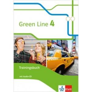 Green Line 4 Trainingsbuch mit Audio-CD  Klasse 8
