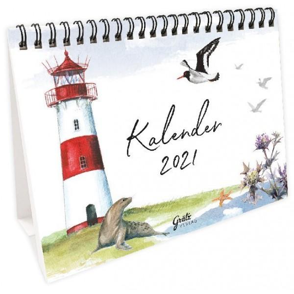 Leffler Tischkalender 2021 - Ahoi.