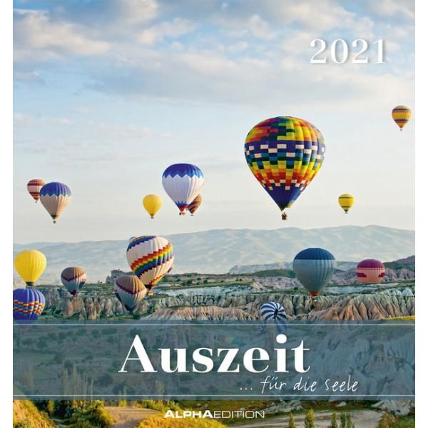 Auszeit für die Seele 2021 - Postkartenkalender