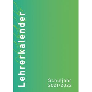 Lehrerkalender 2021/2022 Umschlagfarbe: grün