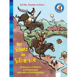 Der Schatz im Silbersee.   Ein Abenteuer mit Winnetou und Old Shatterhand.