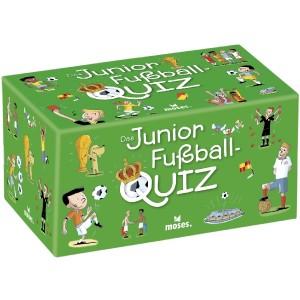 Das Junior Fußball-Quiz (Kinderspiel).