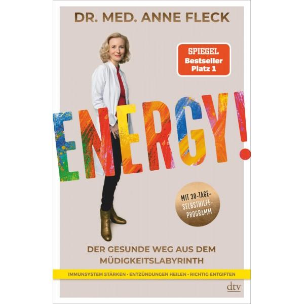 Energy!.   Der gesunde Weg aus dem Müdigkeitslabyrinth,