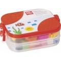 Kinderknete-Box - Πλαστελίνες σε κουτί με κουπ πατ