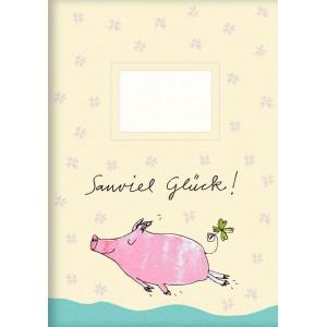 """Heft A5  """"Sauviel Glück!"""""""