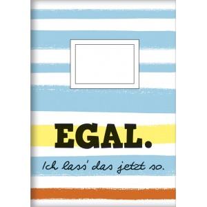 """Heft A5  """"Egal"""""""