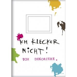 """Heft A5  """"Ich klecker nicht"""""""