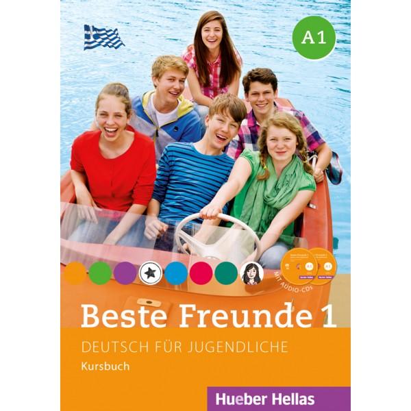 Beste Freunde 1 - Kursbuch mit Audio-CDs  (Βιβλίο του μαθητή με ενσωματωμένα ακουστικά cd)
