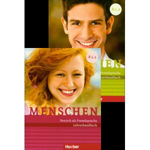Menschen - Paket Lehrerhandbuch A1/1 und A1/2 (Πακέτο με τα Βιβλία του καθηγητή Α1/1 και Α1/2)