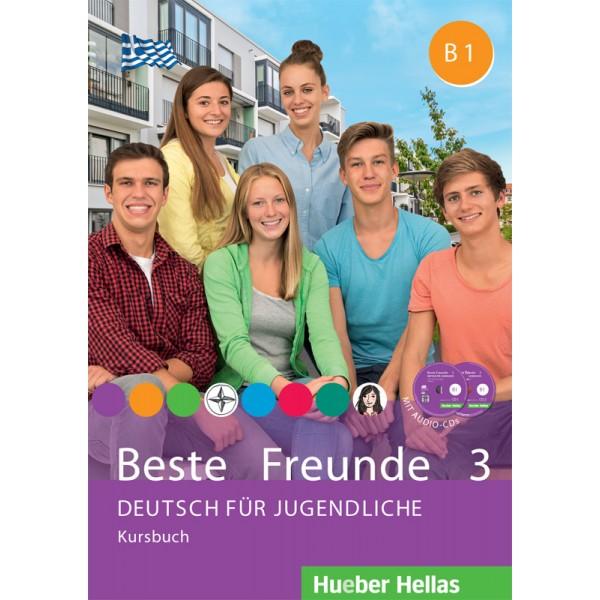 Beste Freunde 3 - Kursbuch mit Audio-CDs (Βιβλίο του μαθητή με ενσωματωμένα ακουστικά cd)