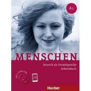 Menschen A1 - Arbeitsbuch mit 2 Audio-CDs (Βιβλίο ασκήσεων με 2 CD)