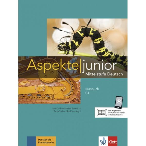 Aspekte junior C1, Kursbuch mit Audios und Videos online (βιβλίο μαθητή)