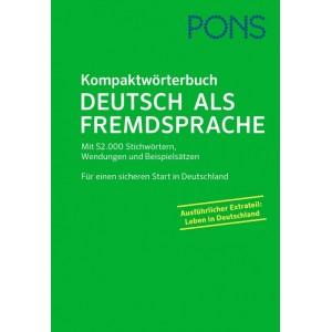 PONS Kompaktwörterbuch Deutsch als Fremdsprache NEU