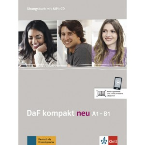 DaF kompakt neu A1-B1, Übungsbuch mit MP3-CD