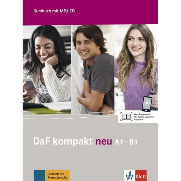 DaF kompakt neu A1-B1, Kursbuch mit MP3-CD