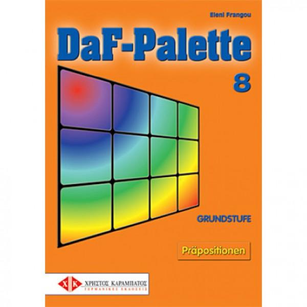 DaF-Palette 8: Präpositionen GRUNDSTUFE