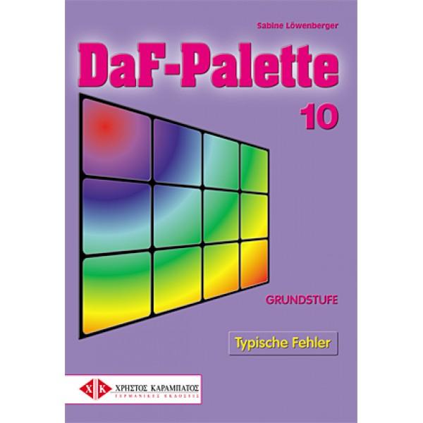 DaF-Palette 10: Typische Fehler GRUNDSTUFE