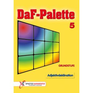 DaF-Palette 5: Adjektivdeklination GRUNDSTUFE