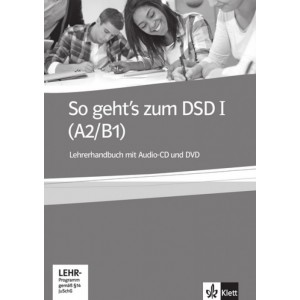 So geht's zum DSD I, Lehrerhandbuch mit Audio-CD und DVD