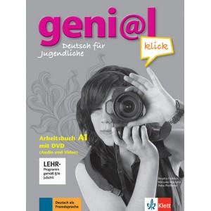 geni@l klick A1, Arbeitsbuch mit DVD-ROM (Audio und Video)