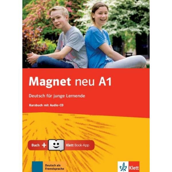 Magnet neu A1, Kursbuch mit Audio-CD + Klett Book-App (για 12μηνη χρήση)
