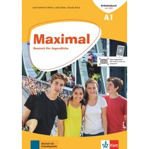 Maximal A1, Arbeitsbuch mit Audios online + Klett Book-App (για 12μηνη χρήση)