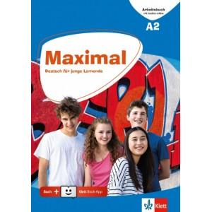 Maximal A2, Arbeitsbuch mit Audios online + Klett Book-App (για 12μηνη χρήση)
