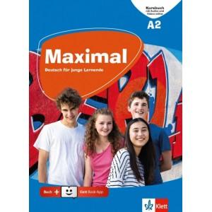 Maximal A2, Kursbuch mit Audios und Videos online + Klett Book-App-Code (για 12μηνη χρήση)