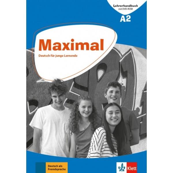 Maximal A2, Lehrerhandbuch mit DVD-ROM