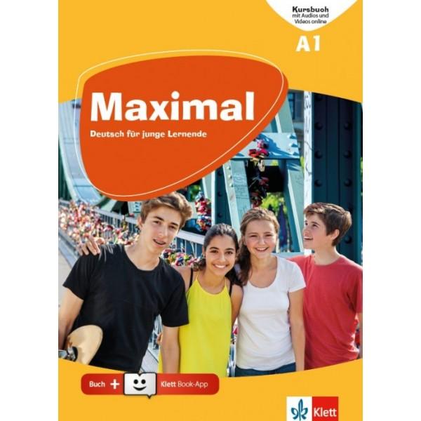 Maximal A1, Kursbuch mit Audios und Videos online + Klett Book-App (για 12μηνη χρήση)