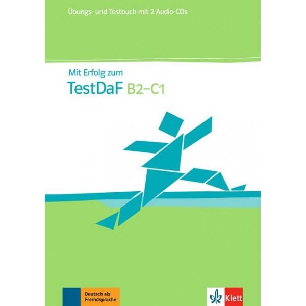Mit Erfolg zum TestDaF, Test- und Übungsbuch mit 2 Audio-CDs
