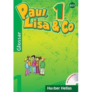 Paul, Lisa & Co 1 - Glossar mit CD (Γλωσσάριο με CD για τη σωστή προφορά των λέξεων)