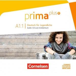 prima plus A1.1, Audio-CD zum Schülerbuch