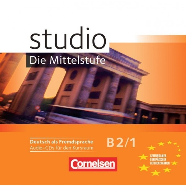 studio d, Die Mittelstufe B2/1 - Audio-CDs