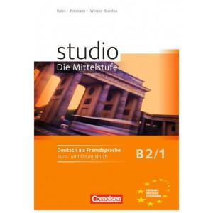 studio d, Die Mittelstufe B2/1 - Kurs- und Übungsbuch, m. Audio-CD (Βιβλίο μαθητή και ασκήσεων)