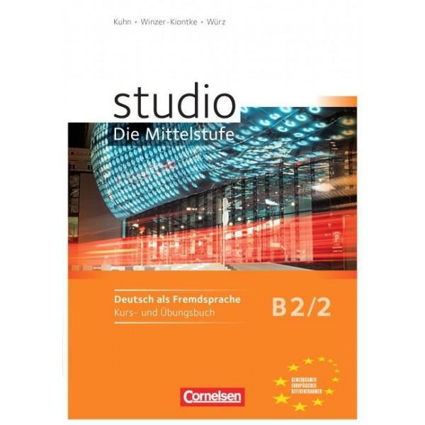 studio d, Die Mittelstufe B2/2 - Kurs- und Übungsbuch, m. Audio-CD (Βιβλίο μαθητή και ασκήσεων)