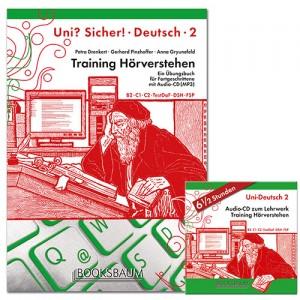 UNI? SICHER! 2 - Training Hörverstehen (incl. MP3-CD)  (B2-C1-C2)