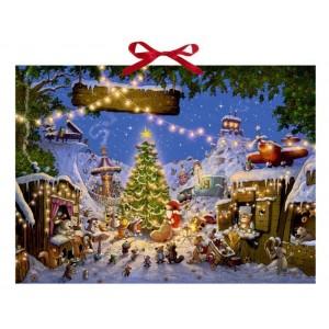Adventskalender - Weihnachtsmarkt der Tiere.