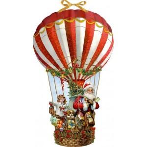 Adventskalender - Weihnachtsballon
