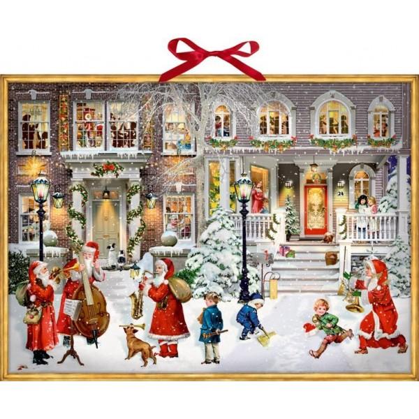 Sound-Adventskalender - Having a wonderful Christmas Time.   Mit 24 beschwingten Weihnachtssongs.