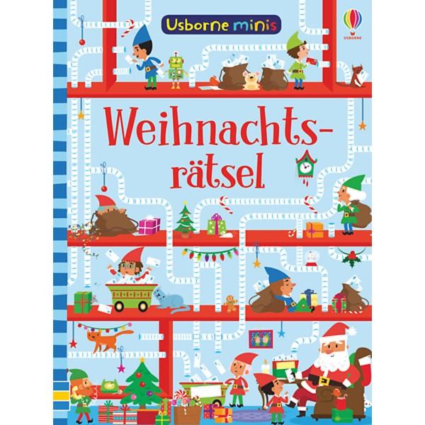 Weihnachtsrätsel. Mini-Buch