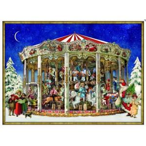 Adventskalender - Nostalgisches Weihnachtskarussell