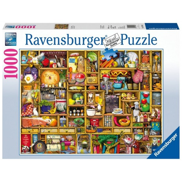 Kurioses Küchenregal Puzzle