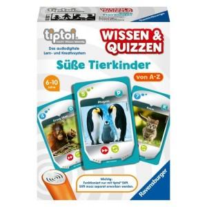 tiptoi® Macht Wissen lebendig..  Wissen & Quizzen: Süße Tierkinder (Spiel-Zubehör)