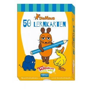 """Lernkarten """"Die Maus"""". ABC Schreib-und-wisch-weg"""