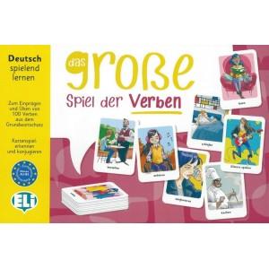 Das große Spiel der Verben (Kartenspiel).