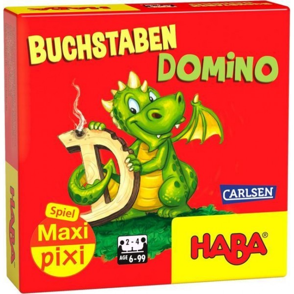 Buchstaben-Domino (Kinderspiel)